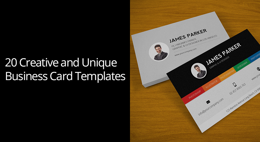 20 Creative and Unique Business Card Templates | CodeGrape ...