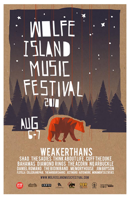 Poster design exhibition - Music Festival Poster Design