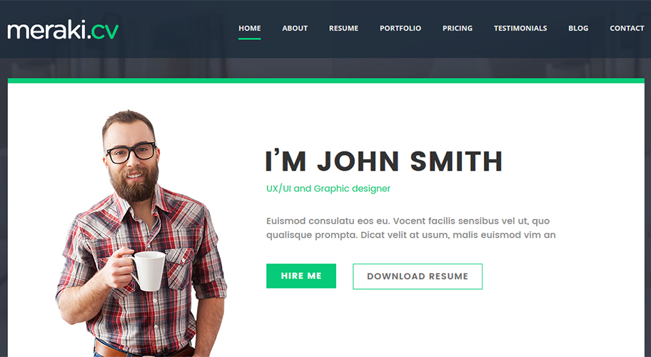 A Premium Tool To Promote Yourself And Your Business.Built With Less, CSS3,  And HTML5 Code. Ideal Template For Any Type Of Profession As ...